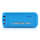 CHEERLINK Fashional Portable Long Time / Hi-Fi 2-Mode Clip Style Digital Voice Recorder - Blue (4GB)