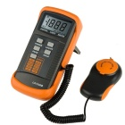 Portable Digital Light Meter - Range 0.1 To 200,000 Lux, 18mm LCD Display, Lux + FC Readout