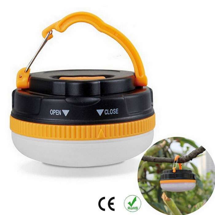 Outdoor-Camping-3-Mode im Freien 1-LED Super Bright Camping-Licht-Lampe mit Magneten