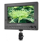 "7"" IPS 1024x600 Lightweight 3G-SDI HDMI Camera-Top Field Monitor with Peaking ST702-HSD Black"