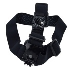 Headband de carregamento duplo para gopro hero 4session, 4 3+ 3 sport camera