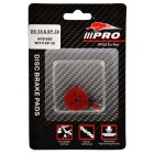 IIIPRO Sintered Bike Ling Brake Shoes for AVID BB5 - Red