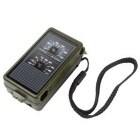 T10 Multi-function Outdoor Travel Camping Compass - Army Green