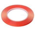 6mm*50m High Temperature Resistant Adhesive Tape - Red
