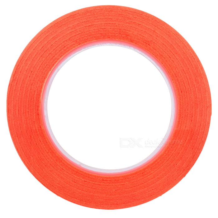 5mm*5m High Temperature Resistant Adhesive Tape - Red