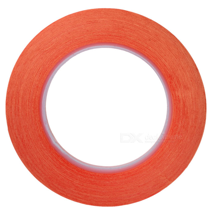 8mm*5m High Temperature Resistant Adhesive Tape - Red
