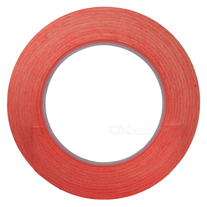 3mm*50m High Temperature Resistant Adhesive Tape - Red