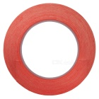 3mm x 50m High Temperature Resistant Adhesive Tape - Red