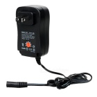 Universal Adjustable 30W 3/4.5/5/6/7.5/9/12V Power Adapter w/ 5V 2.1A USB (AC 110~240V / US Plug)