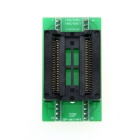PSOP44 to DIP44 / SOP44 / SOIC44 Programmer Adapter Socket - Black + Green