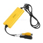 1-CH EM2860C USB Video Capture Card 1-CH Video SDK Kit - Yellow