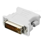 DVI 24+5Pin Male to VGA Female Adapter - Beige