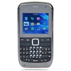 "E7 CARDS GSM Phone w/ 1.4"" Screen, Bluetooth, TF, TV, Three-SIM - Black + Green"