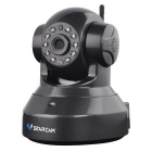 VSTARCAM C37A 960P 1.3MP Wi-Fi Security Surveillance IP Camera w/ Night Vision / TF -Black (UK Plug)