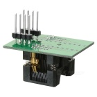 TSSOP8 To DIP28 Programmer Adapter Test Socket - Black + Green