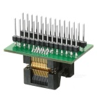 TSSOP28 to DIP28 Programmer Adapter - Black + Green