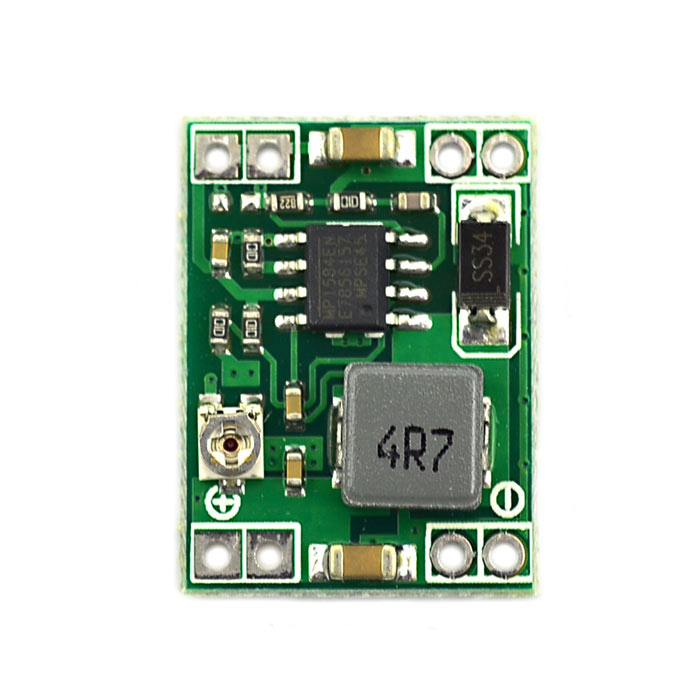 Jtron 3A Mini DC-DC Adjustable Step-down Power Module - Green