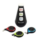 Jtron High-power Wireless Remote Control Goods Finder Anti-Lost Alarm Device Set (3 x CR2032)