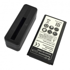 """Replacement 3.8V """"3800mAh"""" Battery + USB 5V Battery Charging Dock for Samsung Galaxy S5 i9600"""