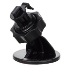 Universal Adhesive 360' Rotatable Car Mount Holder Stand for GPS / DVR & More - Black