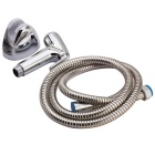 Toilet Spray Bathroom Sprayer Wall Mounted Shower Head Set - Silver