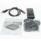 MXQ quad-core smart android 4.4 TV caja w / hdmi, wi-fi, UE enchufe - negro