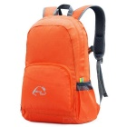 Wind Tour WT051017 Outdoor Hiking Climbing Portable Folding Shoulders Bag Backpack - Orange (25L)