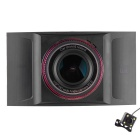 "X9 4.0"" 800 x 480 IPS Screen 1080P Night Vision Monitoring Car DVR Recorder"