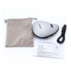 ZHISHUNJIA FWC168 USB 2-Mode Hand Warmer w/ LED Flashlight - Silver