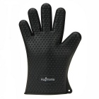 Hugmania-Extra Thick Silicone Barbecue Glove Waterproof Durable Protection Oven Glove - Black