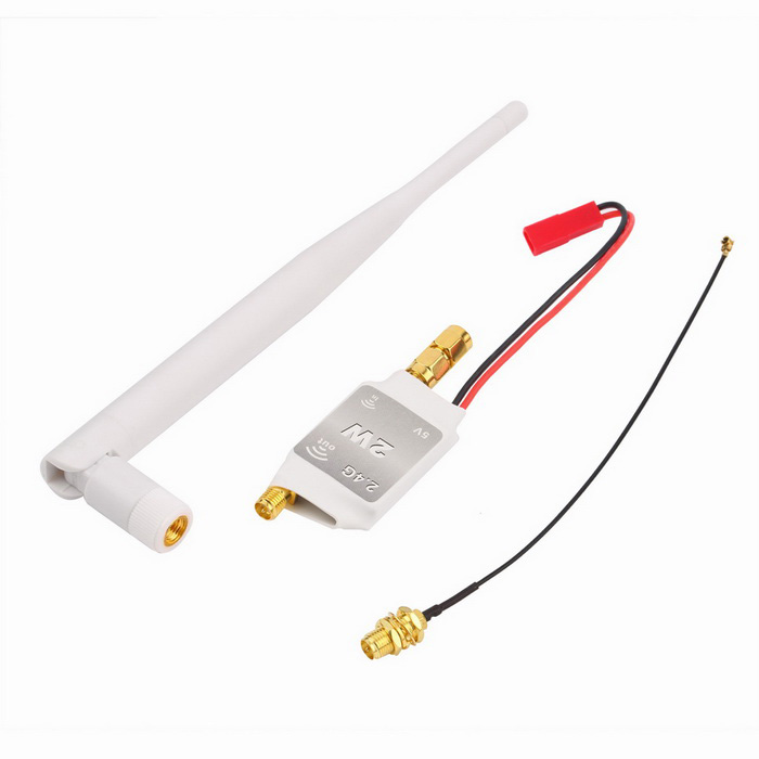 2.4G Mini Signal Booster Amplificateur pour DJI Phantom - Blanc