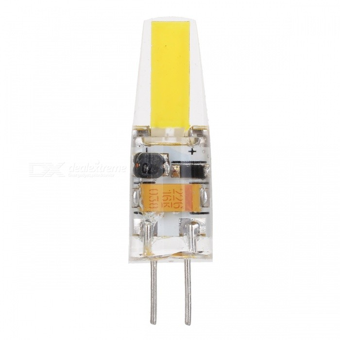 JRLED G4 2W High Light 18-COB Bulb Bluish White 7500K 200lm (5PCS)