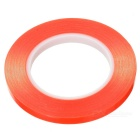 10mm x 50m High Temperature Resistant Adhesive Tape - Red