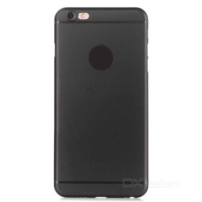 Protective Matte Plastic Back Case for IPHONE 6/6S - Translucent Black