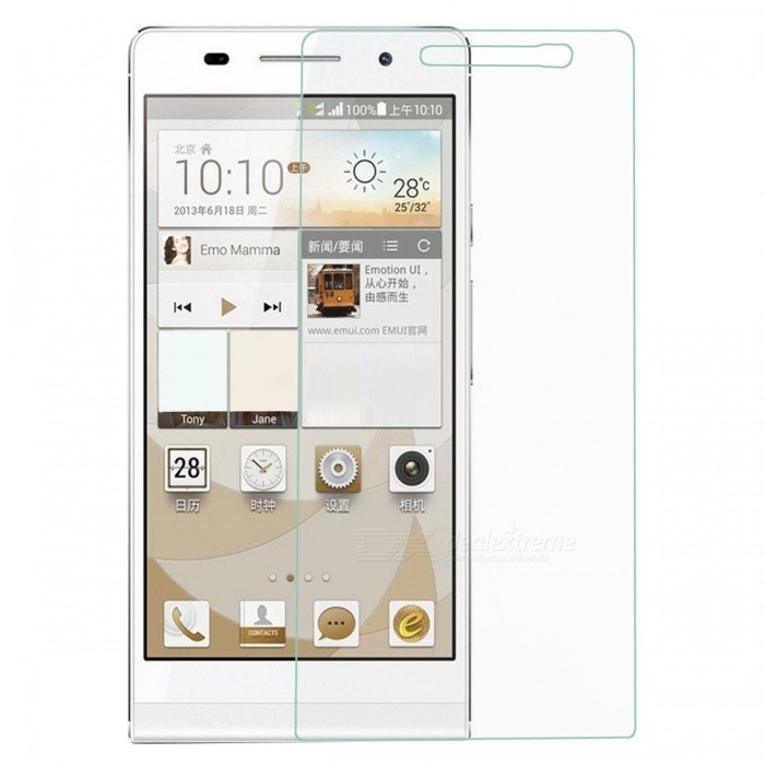 S-What 9H Tempered Glass Screen Guard for Huawei P6 - Transparent