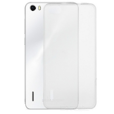S-What Protective TPU Back Case Cover for Huawei Honor 6 - Transparent