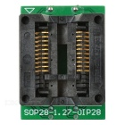 SOP20 to DIP20 IC Programmer Adapter Test Socket - Black + Green
