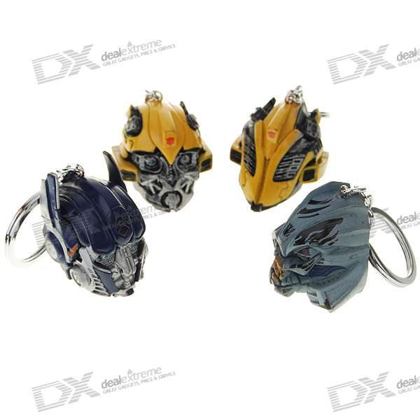 Transformers Robot Model Keychains Set (4-Pack)