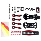 GT-250 250MM Quadcopter PCB Racing Aircraft FPV Multirotor Frame Kit - Red