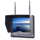 "FPV 720 FPV Monitor Dual 5.8G 32CH Diversity Receiver w/ 7"" 1024x600 IPS / Built-in Battery - Black"