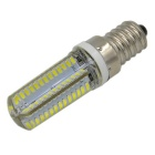 E14 5W 3014-SMD 104-LED 400lm Cold White Light Bulb (AC 220V, 4PCS)