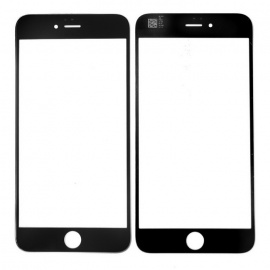 "SKILIWAH Front Outer Screen Glass Replacement Part for Apple 5.5"" IPHONE 6 Plus - Black"