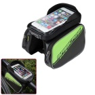 "Basecamp BC-301 Waterproof Bicycle Front Top Tube Bag Pannier Double Pouch for 6.2"" Cell Phone"