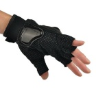 PRO-BIKER MCS-04F Motorcycle Half-Finger Gloves - Black (XL / Pair)