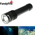 FandyFire XM-L2 U2 1200lm LED Cool White Diving / Land Lighting Flashlight (1 x 26650)