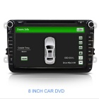 "8"" Skoda Car DVD Player w/ GPS BT Radio USB for Octavia Fabia Roomster Yeti Superb Part Patnck"