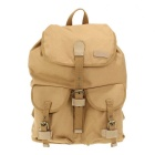 Caden F15Waterproof Canvas Backpack Outdoor Travel Camera Bag for Canon Nikon Pentax - Khaki