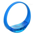 Men's Sports Armband / Leg Band Silicone Warning Light Bracelet - Blue
