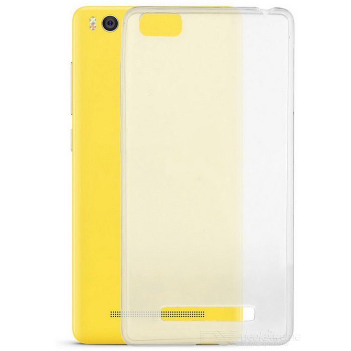 S-What Protective TPU Back Case Cover for Xiaomi 4i - Transparent
