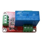 1-Channel 5V High Level Dual Power Relay Module - Red + Blue